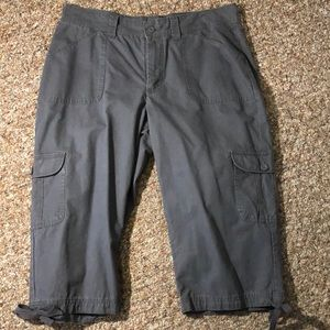 Riders by Lee Capri pants gray size 14